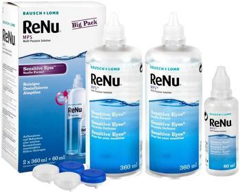 Bausch & Lomb ReNu MPS Sensitive Eyes Big Box (2 x 360ml + 60ml)