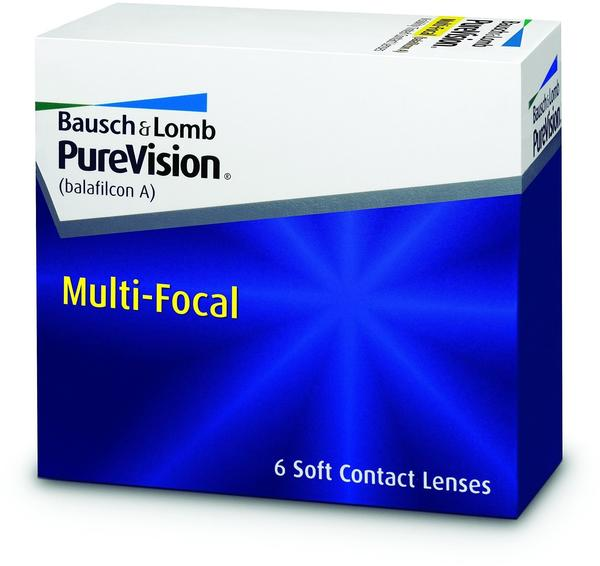 Bausch + Lomb PureVision Multi-Focal 6 St.8.60 BC14.00 DIA+4.00 DPTLow ADD