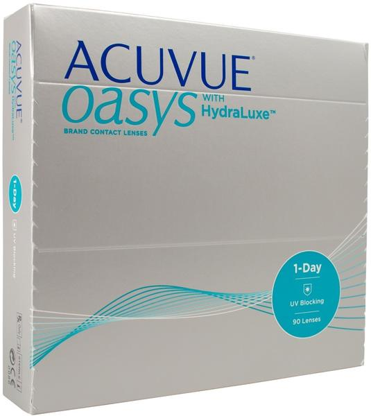 Johnson & Johnson Acuvue Oasys 1-Day with HydraLuxe +0.75 (90 Stk.)