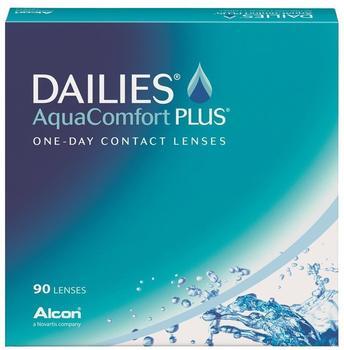 Alcon Dailies AquaComfort Plus (90 Stk.) (Dioptrien: +07.00Radius: 8.7Durchmesser: 14)