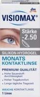 Visiomax Silikon-Hydrogel Monats Kontaktlinse