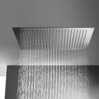 treos Regenpaneel B: 800 mm, für Deckenenbau edelstahl poliert 930.01.6085