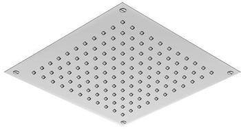 treos Regenpaneel B: 300 T: 300 mm, für Deckeneinbau edelstahl poliert 930.01.3035