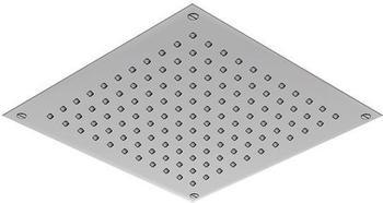 treos Regenpaneel B: 300 T: 300 mm, für Deckeneinbau edelstahl gebürstet 930.01.3030