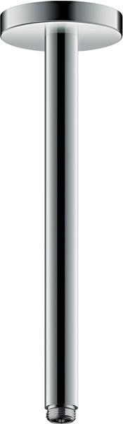 Axor ShowerSolutions Deckenanschluss, 300 mm chrom 26433000
