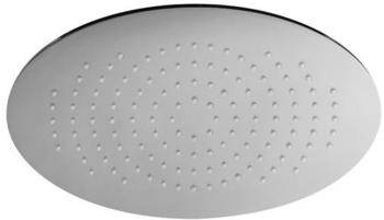 Herzbach Living Spa Regenbrause 11600340101 chrom, 340x220mm, Slim 8, mit Clean-Effekt