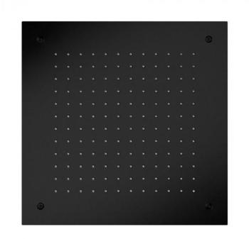 Herzbach DEEP BLACK Regenbrause B: 500 T: 500 mm, zum Deckeneinbau 23.650000.2.12