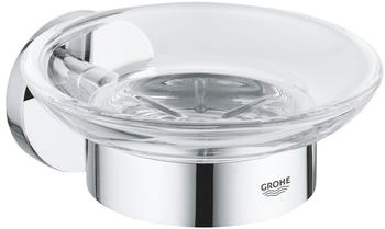 GROHE Essentials Soap Dish Chrome Clear