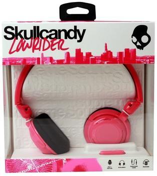 Skullcandy Lowrider Pink Black