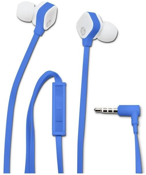 HP H2310 In-Ohr-Kopfhörer, Blau (W2Q01AA#ABB)