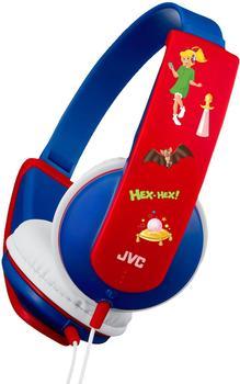 JVC HA-KD5 Bibi Blocksberg Edition (blau-rot)