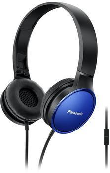 Panasonic rp-hf300e-a Binaural Kopfband, schwarz Blau