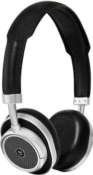 Master & Dynamic MW50 Silver Metal/Black Leather
