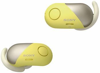 sony-wf-sp700n-sport-kopfhoerer-bluetooth-nfc-noise-cancelling-integriertes-mikrofon-ipx4-wasserfest-extra-bass-headphones-connect-app-gelb