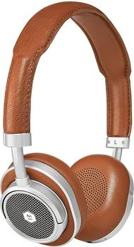Master & Dynamic MW50 Silver Metal/Brown Leather
