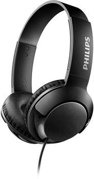 Philips Bass+–Faltkopfhörer mit Kabel blau
