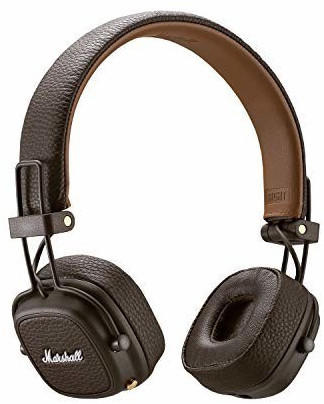 Marshall Bluetooth® Kopfhörer Major III Bluetooth On Ear Braun