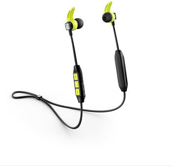 Sennheiser CX Sport In-Ear Wireless Sports Headphon, black/yellow