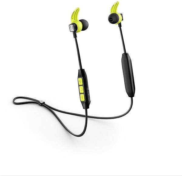 Sennheiser CX Sport In-Ear Wireless Sports Headphon, black/yellow