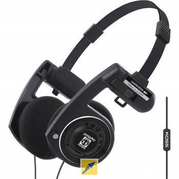 koss-porta-pro-mit-mikrofon-schwarz