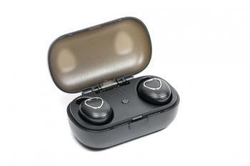 Technaxx Musicman BT-X39 Bluetooth® Kopfhörer In Ear Headset, Wasserbeständig Schwarz
