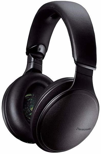 Panasonic RP-HD605NE Over-Ear High-Resolution Noise-Cancelling-Kopfhörer Schwarz