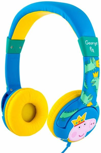 otl technologies pp0361d junior headphone peppa pig prince george kopfh rer blau gelb test otl. Black Bedroom Furniture Sets. Home Design Ideas
