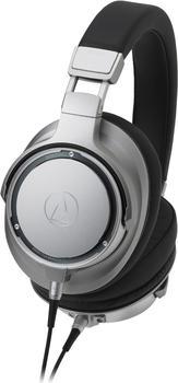 Audio-Technica ATH-SR9 High-Resolution Over-Ear Kopfhörer Silber