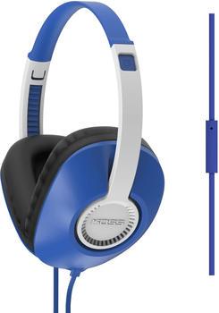 koss-ur23ib-hifi-kopfhoerer-over-ear-headset-lautstaerkeregelung-noise-cancelling-blau