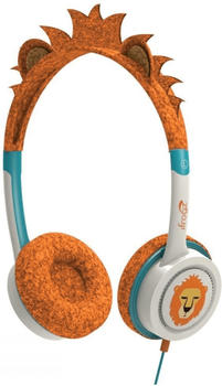 IFROGZ iFrogz-Kinderkopfhörer Little Rockerz im fanatsievollen Drachen-Design, Orange