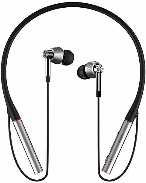 1More E1001BT Bluetooth® Kopfhörer In Ear Headset Silber