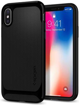 SPIGEN Spigen® [Neo Hybrid] Shiny Black iPhone X
