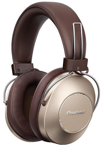 PIONEER S9 braun Hi-Res Noise-Cancelling Overear-Kopfhöhrer, Wireless Bluetooth