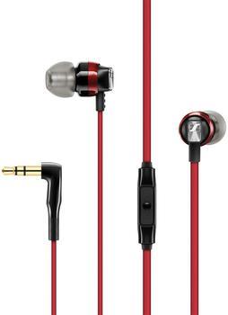 Sennheiser CX 300S Kopfhörer In Ear Headset,Lautstärkeregelung Rot