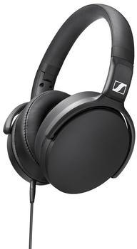 Sennheiser HD 400S Kopfhörer Over Ear Faltbar,Headset,Lautstärkeregelung Schwarz