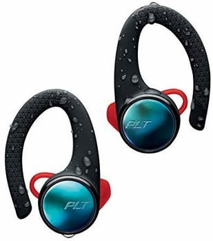 Plantronics BACKBEAT FIT 3100 Bluetooth-Sport Headset/Kopfhörer, In-Ear, IP57 mit Ladeetui Schwarz