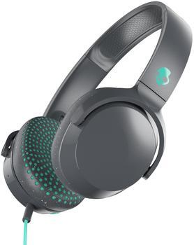 skullcandy-headset-riff-on-ear-w-tap-tech-gray-speckle-miami-schwarz