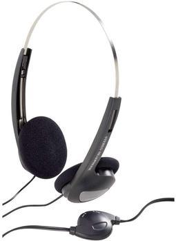 basetech-cd-1000vr-on-ear-kopfhoerer-on-ear-lautstaerkeregelung-leichtbuegel-schwarz