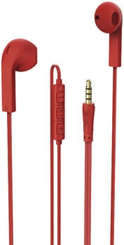 """Hama """"Advance"""" Earbuds 184040 Red"""
