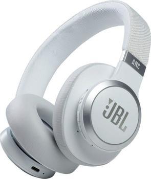 JBL Live 660NC, Over-ear Kopfhörer Bluetooth Weiß