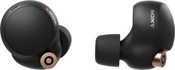 Sony WF-1000XM4, Earbuds, Ladeetui, In-ear Kopfhörer Bluetooth Schwarz