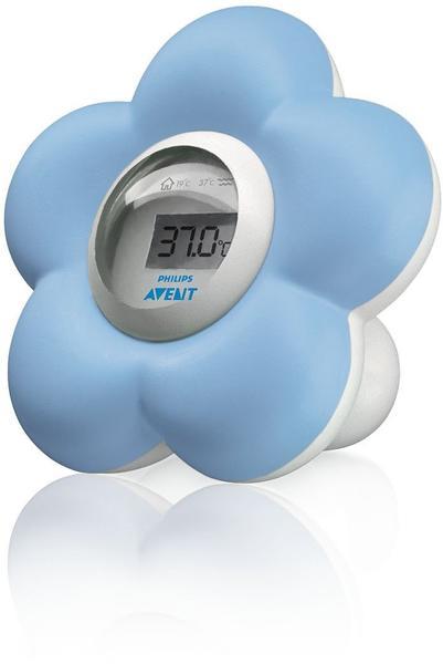 Avent Digitales Bad- und Raumthermometer hellblau