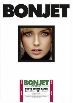 Bonjet BJ3PLP250 Photo Lustre Paper A4 (BON9013157)