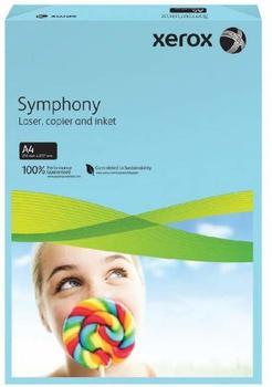 Xerox Symphony 80 A4 Mid Blue Paper CW Blau Druckerpapier