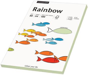 Rainbow Kopierpapier COLOURED PAPER mittelgrün A4 80 g/qm