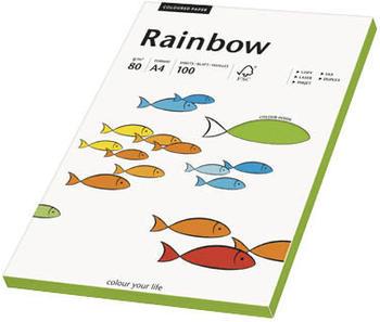 "Rainbow Papier IntŽgrün A4,80g"""