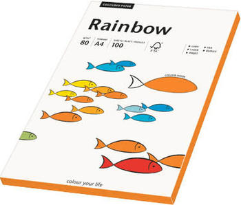 Rainbow Kopierpapier COLOURED PAPER intensivorange A4 80 g/qm