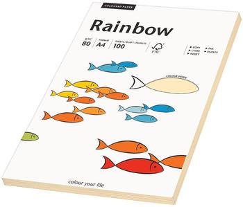 Rainbow Kopierpapier COLOURED PAPER chamois A4 80 g/qm