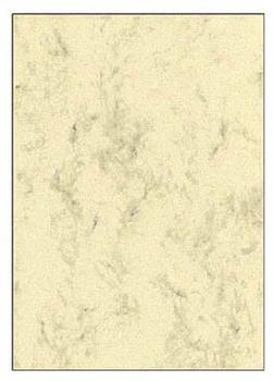 Sigel Marmor-Papier A4 90 g/m² beige 100 Bl. (DP372)
