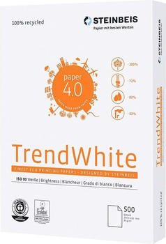 Steinbeis Kopierpapier TrendWhite DIN A3 500 Bl./Pack.